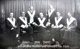 Bandon Officers 1926